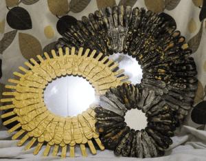 DIY, Dondurma Çubuklarından Ayna Yapılışı 18