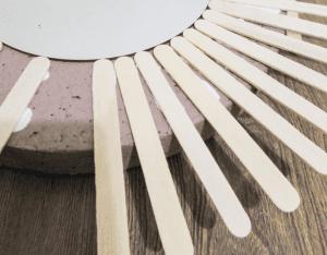 DIY, Dondurma Çubuklarından Ayna Yapılışı 21