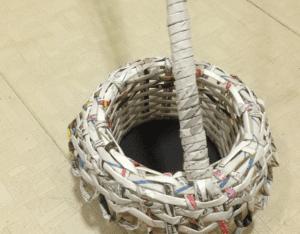 Gazeteden Sepet Nasıl Yapılır? 14