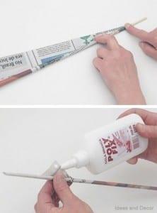 Gazeteden Sepet Nasıl Yapılır?