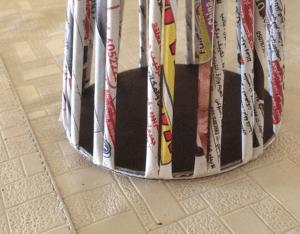 Gazeteden Sepet Nasıl Yapılır? 24