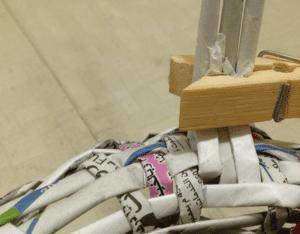 Gazeteden Sepet Nasıl Yapılır? 5