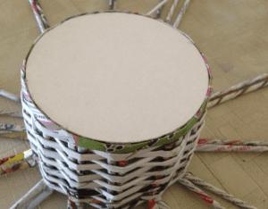 Gazeteden Sepet Nasıl Yapılır? 6