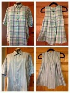 Gömlekten Elbise Yapımı 10