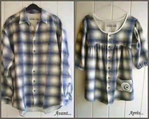 Gömlekten Elbise Yapımı 14