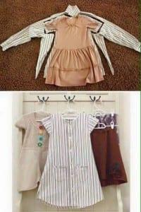 Gömlekten Elbise Yapımı 15