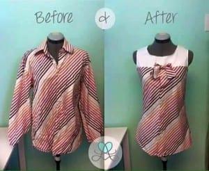 Gömlekten Elbise Yapımı 16