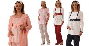 Hamile Giyim ve Hamile Pijama Seçimi