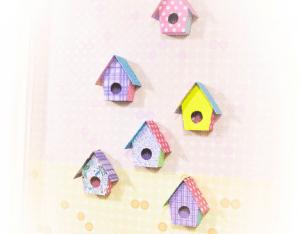 Karton Kutudan Kuş Evi Yapımı 20