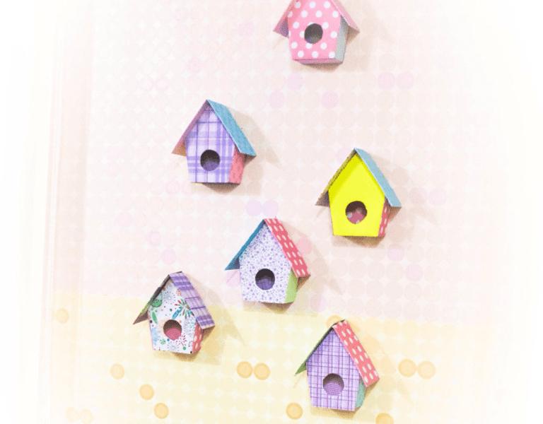 Karton Kutudan Kuş Evi Yapımı Mimuucom
