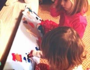 Keçe Çocuk Oyun Panosu Yapımı 9