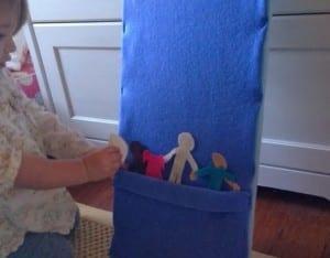 Keçe Çocuk Oyun Panosu Yapımı 11