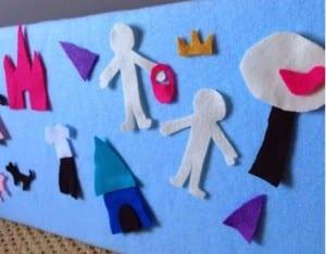 Keçe Çocuk Oyun Panosu Yapımı 1