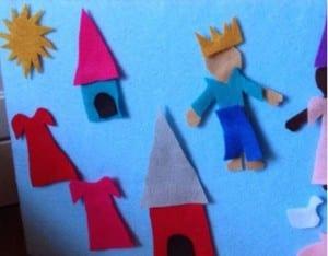 Keçe Çocuk Oyun Panosu Yapımı 4
