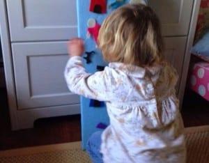 Keçe Çocuk Oyun Panosu Yapımı 7