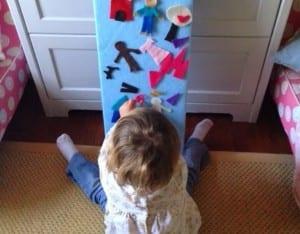 Keçe Çocuk Oyun Panosu Yapımı 8