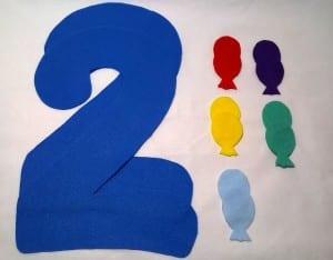 Keçe Doğum Günü Süsü Yapılışı 7