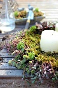 Minyatür Bahçe Mumluk Yapılışı 1