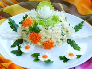 Monica Salatası Nasıl Yapılır?