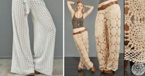 Örgü Yazlık Pantolon Yapımı