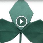 Origami Çiçek Yaprağı Yapılışı