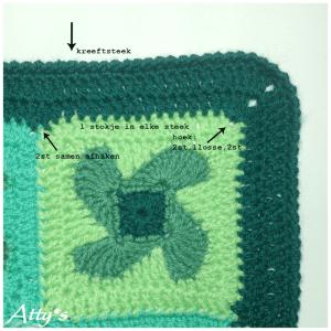 Rüzgar Gülü Bebek Battaniyesi Yapılışı 4