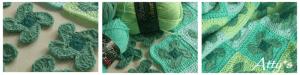 Rüzgar Gülü Bebek Battaniyesi Yapılışı 5