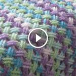 Videolu, Çapraz Örgü Battaniye Yapımı 5