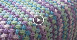 Videolu, Çapraz Örgü Battaniye Yapımı