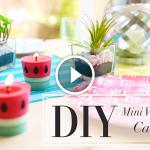Videolu, Evde Mum Nasıl Yapılır? 10