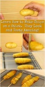 Videolu, Fırında Patates Cipsi Nasıl Yapılır?