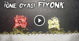 Videolu, İğne Oyası Fiyonk Modeli Yapılışı