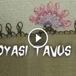 Videolu, İğne Oyası Tavus Kuşu Modeli Yapılışı