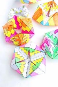 Videolu, Kağıt Oyuncaklar: Flextangles