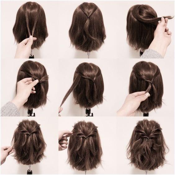 +90 Değişik 2016 Örgü Saç Modelleri