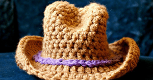 Amigurumi Kovboy Şapka Nasıl Yapılır?