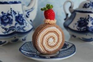 Amigurumi Rulo Pasta Yapımı 25