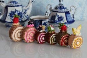 Amigurumi Rulo Pasta Yapımı 4