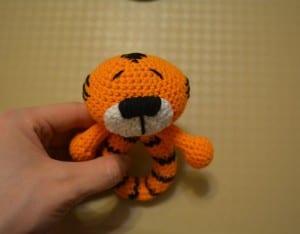 Amigurumi Tiger Çıngırak Yapılışı 24
