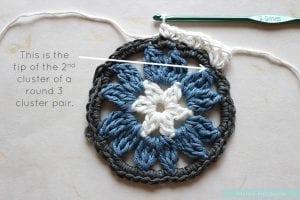 Anemon Çiçeği Bebek Battaniyesi Yapılışı 19