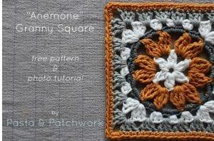 Anemon Çiçeği Bebek Battaniyesi Yapılışı 2