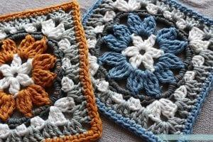 Anemon Çiçeği Bebek Battaniyesi Yapılışı 4