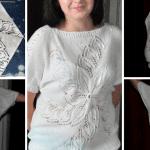 Beş Şişle Uçan Yapraklar Bluz Modeli Yapılışı