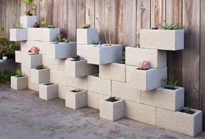 Beton Bloklardan Yapılmış 22 Yaratıcı Fikir 4
