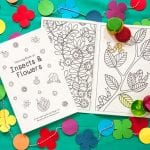 Boya Kalemleri ve Ücretsiz Boyama Kitabı 1
