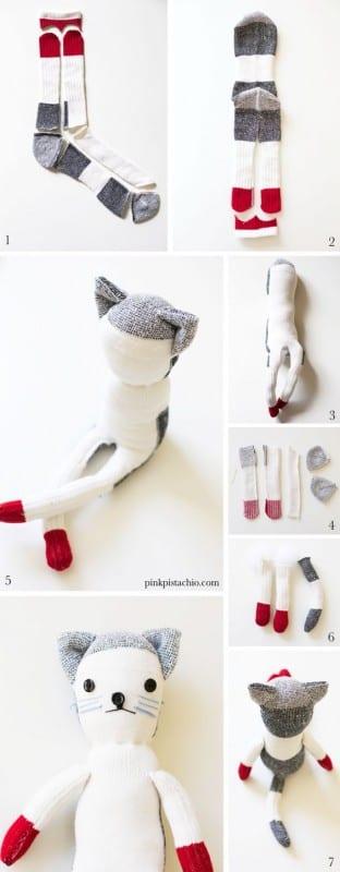Çoraptan Oyuncak Modelleri ve Yapımı 18