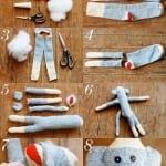 Çoraptan Oyuncak Modelleri ve Yapımı 35