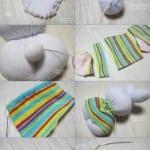 Çoraptan Oyuncak Modelleri ve Yapımı 36