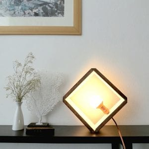 DIY, Ahşap Küp Lamba Yapılışı 11