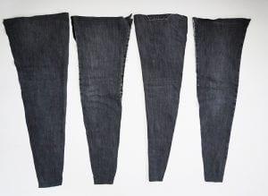 DIY, Eski Kot Pantolondan Halı Yapılışı 2
